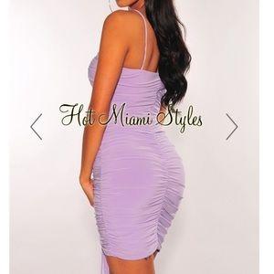 Hot Miami Styles Dresses - Lilac Dress